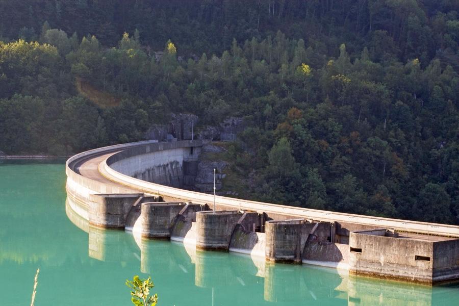 Stuwdam van Vouglans